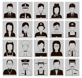 Professions Vector Flat Icons. Stock Photography