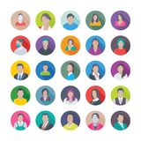 Professional Flat Icons of Professions. These Professions Vector Icons Set is definitely great if you`re looking professional avatars to portray yourself or for Stock Photography