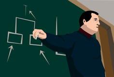 The professor Stock Image