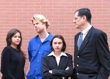 Professor & estudantes Fotografia de Stock Royalty Free