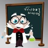 Professor da ciência ilustração royalty free