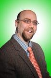 Professor da faculdade fotografia de stock