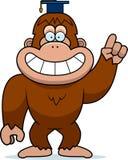 Professor de Bigfoot dos desenhos animados Imagem de Stock Royalty Free
