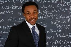 Professor de matemática fotografia de stock