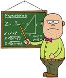 Professor de matemática masculino Fotos de Stock Royalty Free