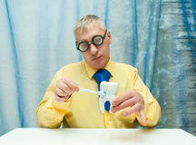 Professor of Dentistry Royalty Free Stock Images