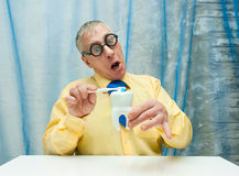 Professor of Dentistry Stock Image