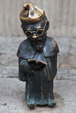 Professor dwarf in Wroclaw Royalty Free Stock Photography