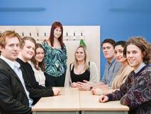 Professor e estudantes Fotos de Stock