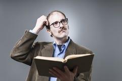 Professor Lecturing fotografia de stock royalty free