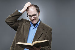 Professor Lecturing Stock Afbeelding
