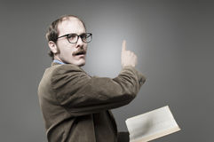 Professor Lecturing. A young professor giving a lecture Stock Photos