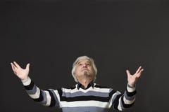 Professor man of university or colleage in studio Royalty Free Stock Photos