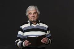 Professor man of university or colleage in studio Stock Photos