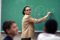 Professor na classe Fotografia de Stock Royalty Free
