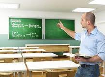 Professor na sala de aula Fotos de Stock