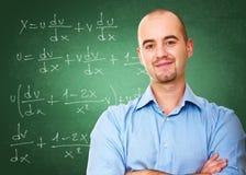 Professor na sala de aula Foto de Stock