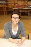 Professor ou estudante amigável Imagem de Stock Royalty Free