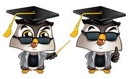 Professor Owl Royaltyfria Foton