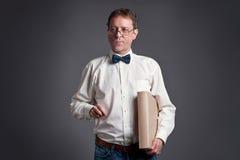 Professor talking Royalty Free Stock Photography