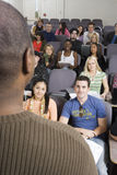Professor Teaching In The Classroom Royalty Free Stock Photography