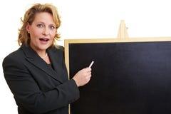 Professor at university Stock Images