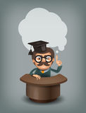 Professor. Vector format Royalty Free Stock Photography