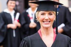 Professore universitario invecchiato mezzo Immagini Stock Libere da Diritti