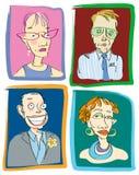 Professores No. 2 ilustração stock