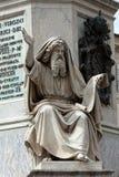 ProfetEzechiel staty i Rome, Arkivbild