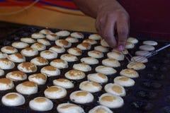 Proffertjes baking Stock Photo
