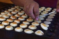 Proffertjes baking Stock Images