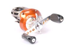 Proffesional Bait casting reel Stock Photo
