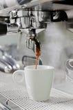 Proffesional coffee machine Stock Photo