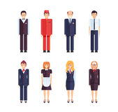Proffesional hotel staff Royalty Free Stock Photo