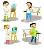 Proffesionals 2 Vector Illustratie