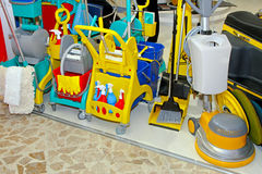 Proffessional cleaning equipment Royalty Free Stock Images