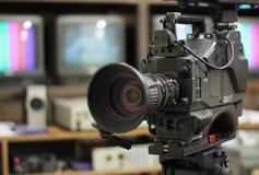 Proffessional Kamera Stockbild