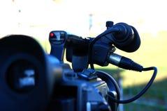 Profi DV camera in action Stock Photos