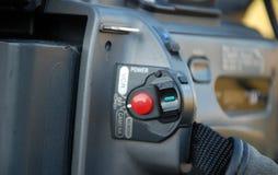 Profi DV camera controls Royalty Free Stock Image