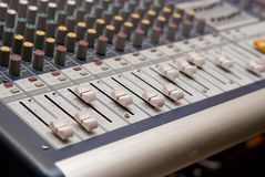 Profi sound mixer Royalty Free Stock Photography