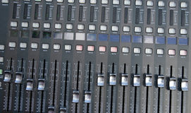 Profi sound mixer Royalty Free Stock Photo