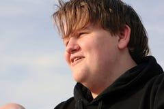 Profiel 2 van de tiener Stock Fotografie