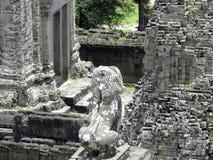 Profiel van Cambodjaans imperium Stock Afbeeldingen