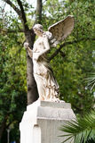 Profiel van engelenstandbeeld Stock Afbeelding