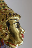 Profiel van Thaise Marionet Royalty-vrije Stock Afbeelding