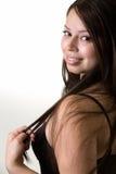 Profiel van vrouwengezicht Royalty-vrije Stock Afbeelding