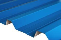 Profieltype van het bladmetaal, modern materiaal voor het dak van huizen royalty-vrije stock foto's