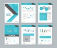 Profil d'entreprise, rapport annuel, brochure, insecte, calibre de disposition, illustration stock