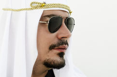Profil d'homme arabe Photo libre de droits
